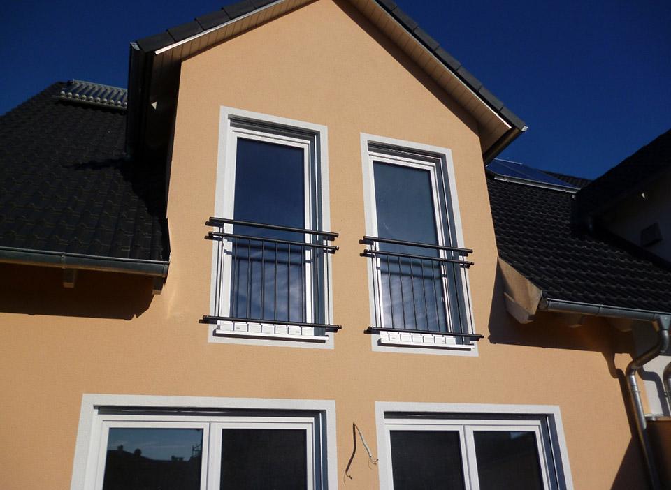 Geländer für Fenster