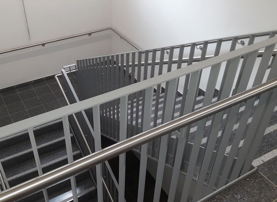 Handlauf-Treppe